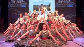 """""""Diversity"""" sorgten bei der Gemeinsamen Sportlerehrung von Stadt Marburg und Landkreis Marburg-Biedenkopf für beste Unterhaltung."""
