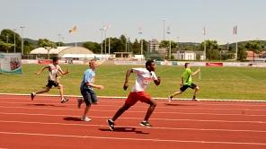 Auf die Plätze, fertig, los: Auch aktuelle Bilder wie hier von den Landesspielen der Special Olympics 2015 auf der Aschebahn im Georg-Gaßmann-Stadion sind gefragt.