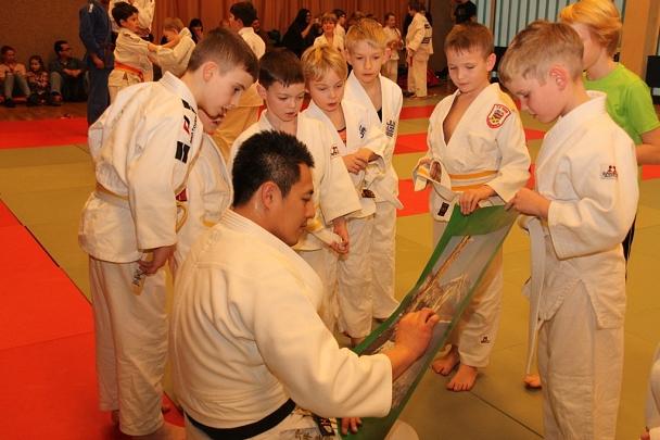 Judo-Weltmeister Takamaso Anai©Foto Stadt Marburg, i.A. Heiko Krause