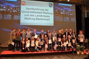 Gemeinsame Sportlerehrung 2016©Bildarchiv Foto Marburg