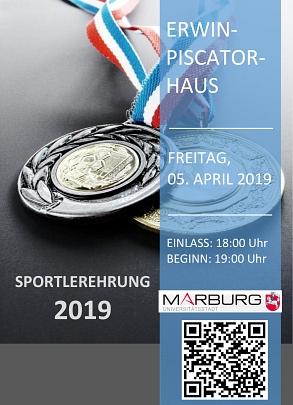Sportlerehrung Plakat 2019