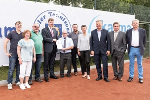 Tennisverein Sanierung © Universitätsstadt Marburg